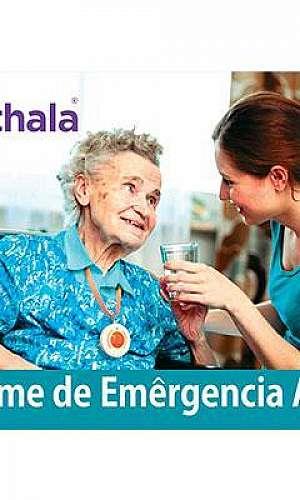 Alarmes monitorados para cuidadores