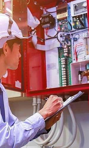 Conserto de sistemas de alarmes