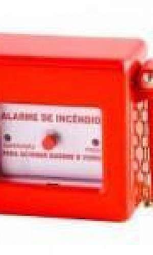 Instalação central de alarme de incêndio
