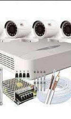 Instalação de câmeras CFTV