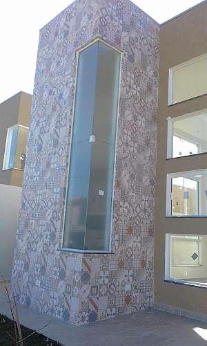 Pele de vidro residencial