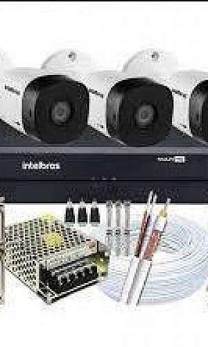Sistema CFTV residencial