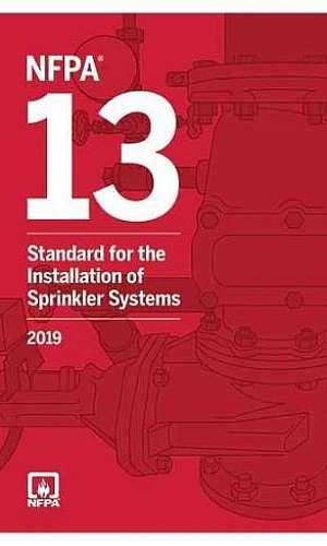 Sistema de alarme de incêndio NFPA 13