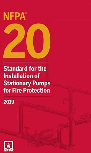 Sistema de alarme de incêndio NFPA 20