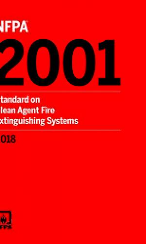 Sistema de alarme de incêndio NFPA 2001