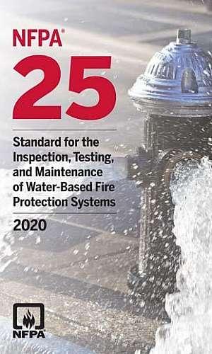 Sistema de alarme de incêndio NFPA 25