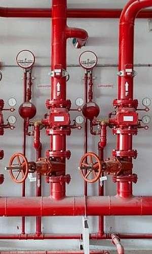 Sistema de detecção de incêndio simplex