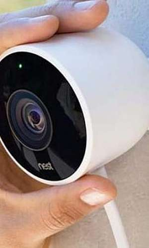Sistema de segurança com câmeras